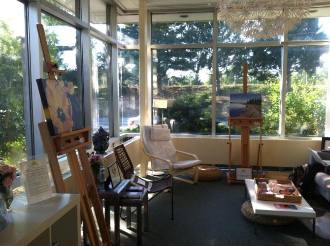 Artist of the Month at YogaBalance Studio!